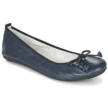 kengät Naiset Balleriinat Mac Douglas ELIANE Laivastonsininen
