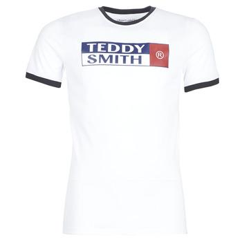 vaatteet Miehet Lyhythihainen t-paita Teddy Smith TOZO White