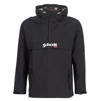 vaatteet Miehet Pusakka Schott PIKES 1 Black