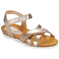 kengät Tytöt Sandaalit ja avokkaat Kickers BOGART Bronze / Metallinen