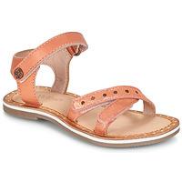 kengät Tytöt Sandaalit ja avokkaat Kickers DIDONC Pink / Metallinen