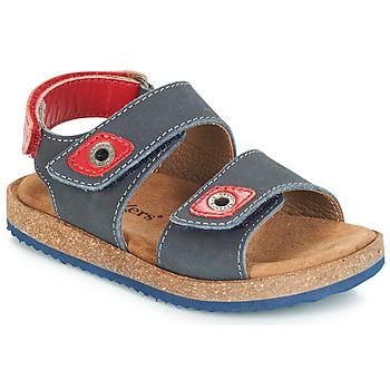 kengät Pojat Sandaalit ja avokkaat Kickers FIRST Laivastonsininen