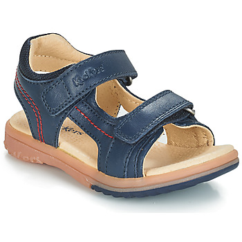 kengät Pojat Sandaalit ja avokkaat Kickers PLATINO Laivastonsininen