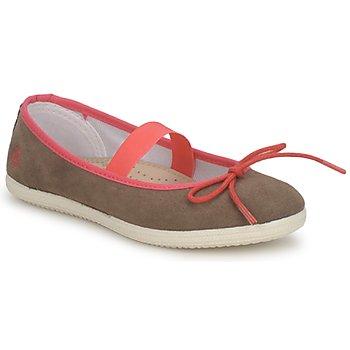 kengät Tytöt Balleriinat Petit Bateau KITY KID Kaki