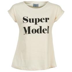 vaatteet Naiset Lyhythihainen t-paita Compania Fantastica HITTU White