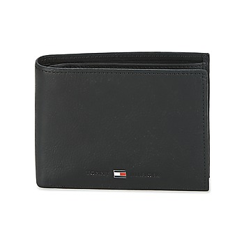 laukut Miehet Lompakot Tommy Hilfiger JOHNSON CC AND COIN POCKET Black