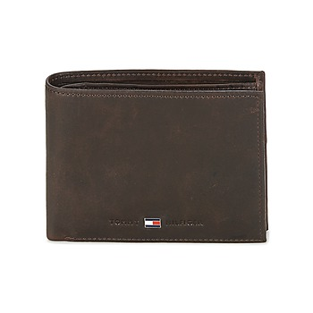laukut Miehet Lompakot Tommy Hilfiger JOHNSON CC AND COIN POCKET Brown