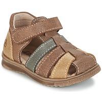 kengät Pojat Sandaalit ja avokkaat Citrouille et Compagnie FRINOUI Brown / Monivärinen
