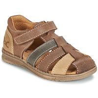 kengät Pojat Sandaalit ja avokkaat Citrouille et Compagnie FRINOUI Brown