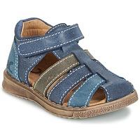 kengät Pojat Sandaalit ja avokkaat Citrouille et Compagnie FRINOUI Laivastonsininen / Grey