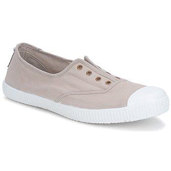kengät Naiset Matalavartiset tennarit Victoria 6623 Beige