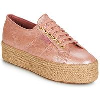 kengät Naiset Matalavartiset tennarit Superga 2790 LINRBRROPE Pink