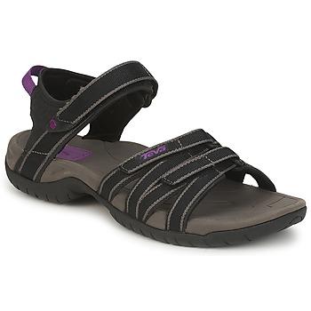kengät Naiset Sandaalit ja avokkaat Teva TIRRA Black / Grey