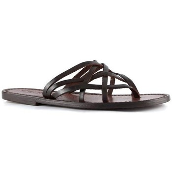 kengät Naiset Sandaalit ja avokkaat Gianluca - L'artigiano Del Cuoio 543 D MORO CUOIO Testa di Moro