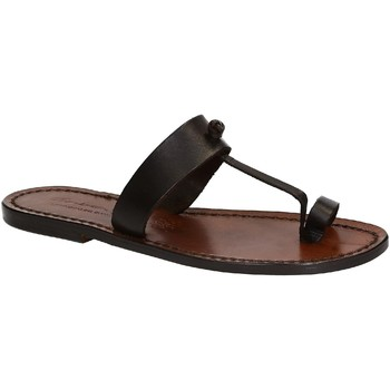 kengät Naiset Sandaalit ja avokkaat Gianluca - L'artigiano Del Cuoio 554 D MORO CUOIO Testa di Moro