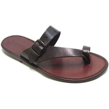 kengät Naiset Sandaalit ja avokkaat Gianluca - L'artigiano Del Cuoio 556 D MORO CUOIO Testa di Moro