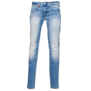 vaatteet Miehet Slim-farkut Replay ANBAS Blue / CLAIR