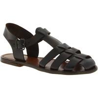 kengät Naiset Sandaalit ja avokkaat Gianluca - L'artigiano Del Cuoio 501 D MORO CUOIO Testa di Moro
