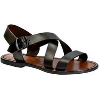 kengät Naiset Sandaalit ja avokkaat Gianluca - L'artigiano Del Cuoio 508X D MORO CUOIO Testa di Moro