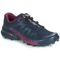 kengät Naiset Juoksukengät / Trail-kengät Salomon SPEEDCROSS PRO 2 Black / Violet