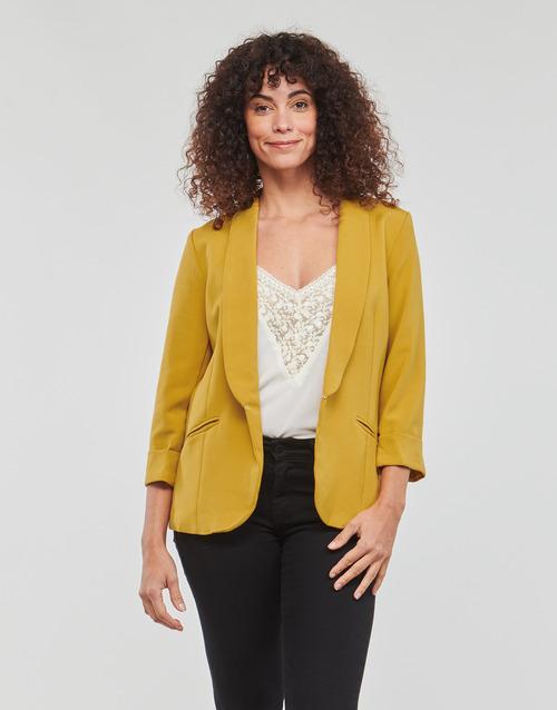 vaatteet Naiset Takit / Bleiserit Betty London IOUPA Yellow