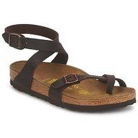kengät Naiset Sandaalit ja avokkaat Birkenstock YARA PREMIUM Brown
