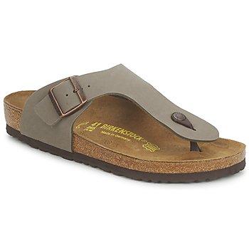 kengät Miehet Varvassandaalit Birkenstock RAMSES Grey