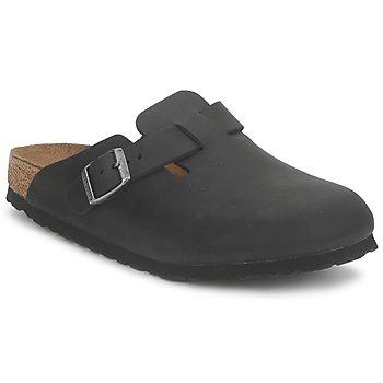 kengät Puukengät Birkenstock BOSTON PREMIUM Musta