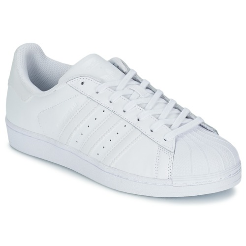 kengät Matalavartiset tennarit adidas Originals SUPERSTAR FOUNDATION White