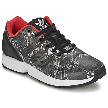kengät Naiset Matalavartiset tennarit adidas Originals ZX FLUX W Grey
