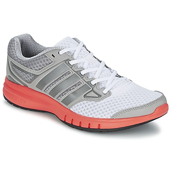 kengät Miehet Juoksukengät / Trail-kengät adidas Performance GALACTIC ELITE M White / Grey / Orange