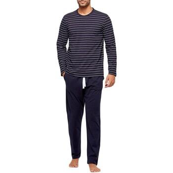 vaatteet Miehet pyjamat / yöpaidat Impetus GO61024 039 Sininen