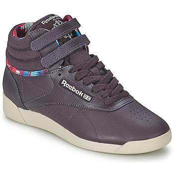 kengät Naiset Korkeavartiset tennarit Reebok Classic F/S HI GEO GRAPHICS Violet