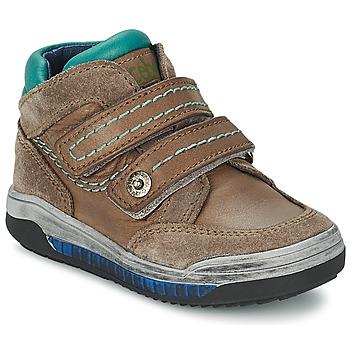 kengät Tytöt Korkeavartiset tennarit Acebo's ACERA TAUPE