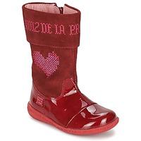 kengät Tytöt Saappaat Agatha Ruiz de la Prada DAFNE Red