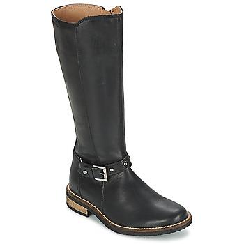 kengät Tytöt Saappaat Garvalin KAISER Black
