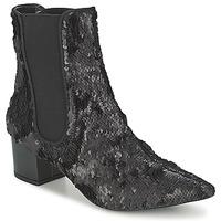 kengät Naiset Bootsit RAS ANAHI Musta