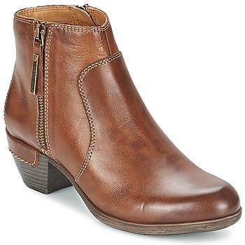 kengät Naiset Nilkkurit Pikolinos ROTTERDAM MILI 902 Brown