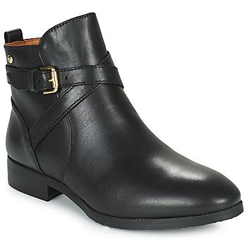 kengät Naiset Bootsit Pikolinos ROYAL BO Black