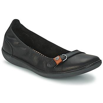 kengät Naiset Balleriinat TBS MALINE Black
