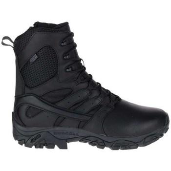 kengät Miehet Vaelluskengät Merrell Moab 2 8 Response WP Mustat