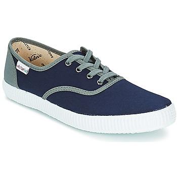 kengät Matalavartiset tennarit Victoria INGLESA LONA DETALL CONTRAS Laivastonsininen