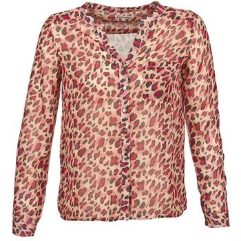vaatteet Naiset Pitkähihainen paitapusero Best Mountain AZARI BEIGE / Red