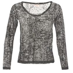 vaatteet Naiset T-paidat pitkillä hihoilla DDP ACAFA Grey