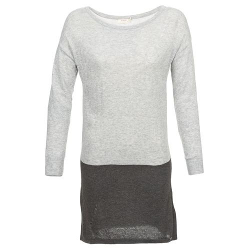vaatteet Naiset Lyhyt mekko DDP EMMI Black / Grey