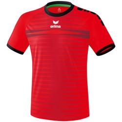 vaatteet Miehet Lyhythihainen t-paita Erima Maillot  Ferrara 2.0 rouge/noir