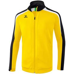 vaatteet Miehet Ulkoilutakki Erima Veste entrainement  Liga 2.0 jaune/noir/blanc