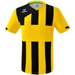 vaatteet Pojat Lyhythihainen t-paita Erima Maillot enfant  Siena 3.0 jaune/noir