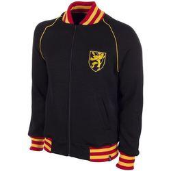 vaatteet Miehet Svetari Copa Football Sweat zippé Belgique 1960's noir/jaune/rouge