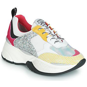 kengät Naiset Matalavartiset tennarit Meline PUNKY DADDY Valkoinen / Vaaleanpunainen